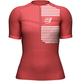 Compressport Tri Postural SS Top Women coral